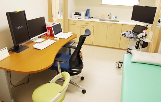 写真:診察室
